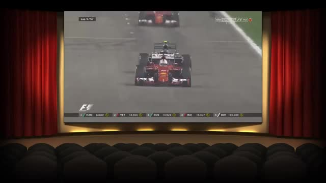 Watch Rosberg vs. Vettel (sorry for the theater border) (reddit) GIF on Gfycat. Discover more formula1 GIFs on Gfycat