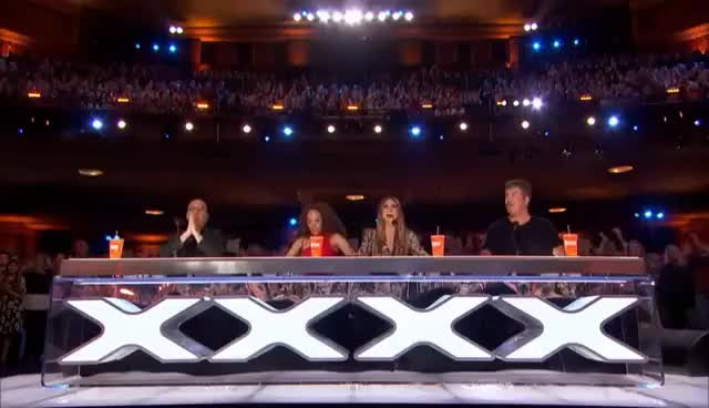 Watch this trending GIF on Gfycat. Discover more AGT, America, Highlights, NBC, clips, competition, entertainment, funny, got, judge, previews, talent, tv, vote GIFs on Gfycat