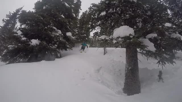 Watch and share Copper Mountain 12 11 16 Fresh Pow Openings 20 Inches In 3 Days Gopro 4 GIFs on Gfycat