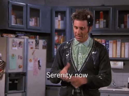 Watch and share Serenity Now GIFs and Seinfeld GIFs by Ricky Bobby on Gfycat