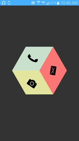androidthemes, lgg3, Kustom Cube GIFs