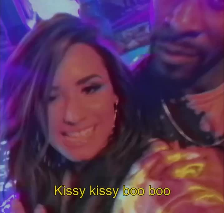 demi lovato, kisses, kissy kissy boo boo, sorry not sorry,  GIFs