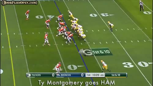 Watch Ty Montgomery goes HAM GIF by Unsurprised (@unsurprised) on Gfycat. Discover more GBvsDEN, Ty Montgomery, beast mode, beastmode, broncos, denver, denver broncos, dfo, door flies open, doorfliesopen, doorfliesopen.com, football, green bay, green bay packers, ham, nfl, packers, quotables, roger goodell is a national disgrace GIFs on Gfycat