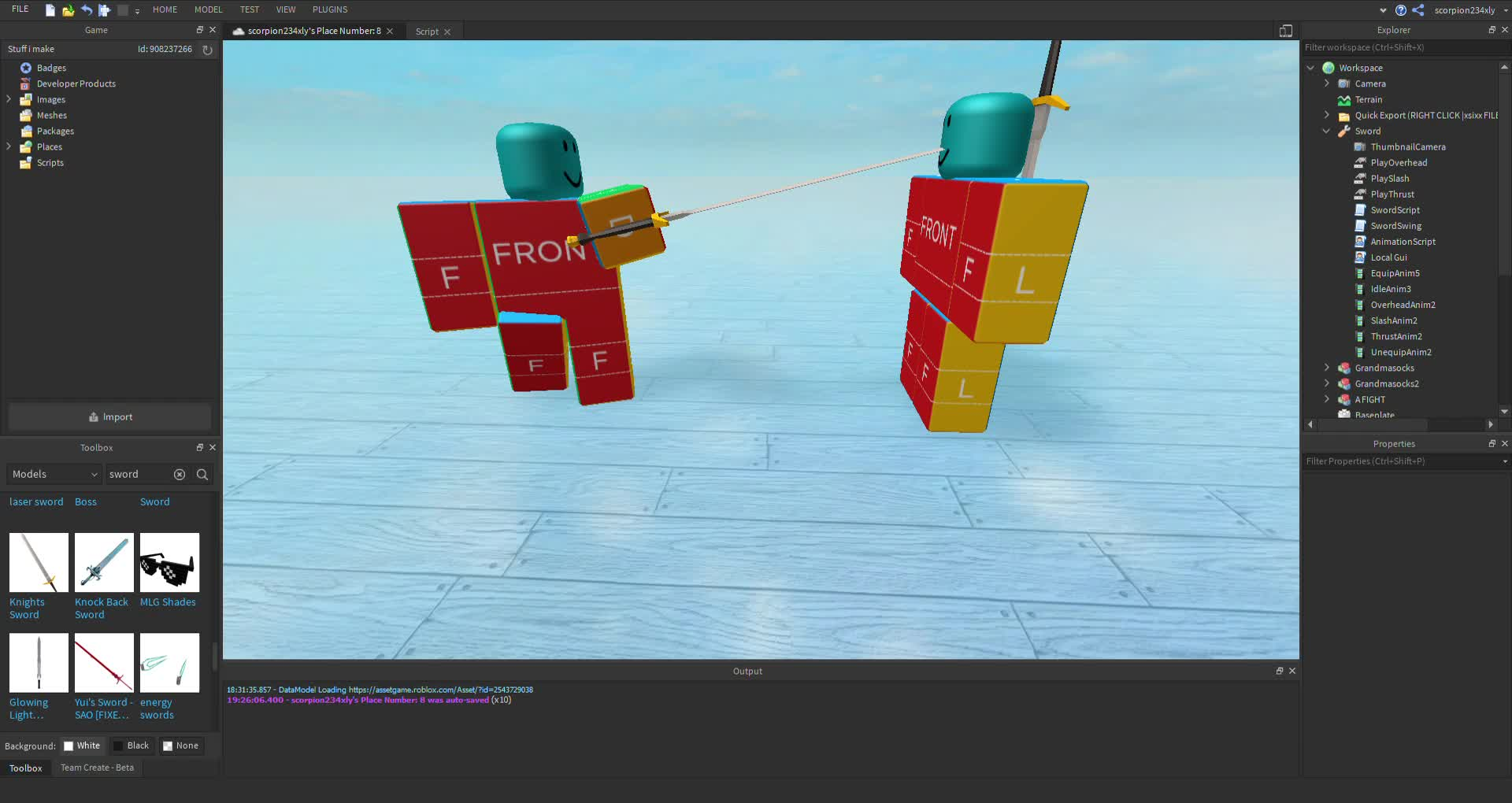 Published As Scorpion234xly S Place Number 8 Roblox Studio 2019