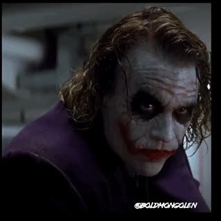 Watch and share Heath Ledger GIFs and The Joker GIFs by Boldmongolen on Gfycat
