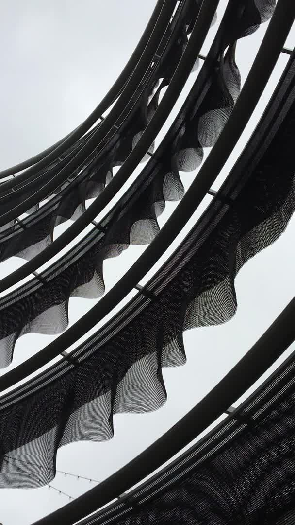 architecture, facade, losangeles, wind, How this mesh facade moves when its windy GIFs