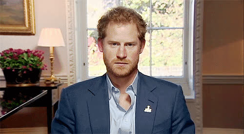 prince harry, PRINCE DORK FACEOriginally  cambridgeroyalsCUTIE PATOOTIE Originally  ravishingtheroyalsSMILEY HARRYLOL OMG WHAT IS WRONG GIFs
