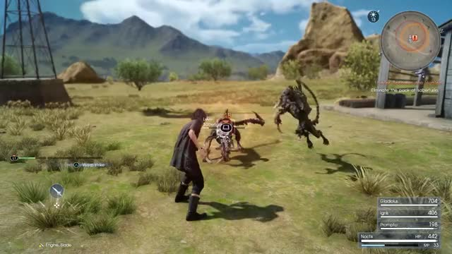 Watch and share Videogames GIFs and Ffxv GIFs by IzThatit on Gfycat