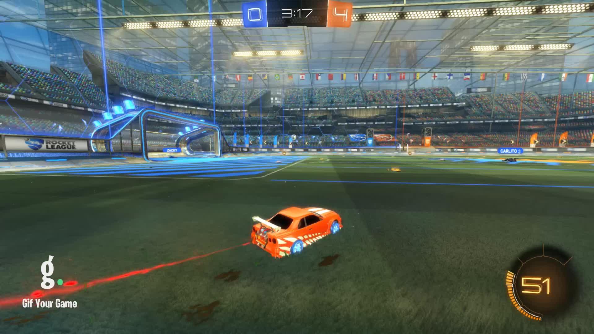 Gif Your Game, GifYourGame, Goal, Rocket League, RocketLeague, Zagge, Goal 5: Zagge GIFs