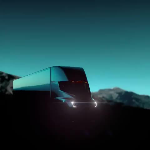 Watch Tesla on Twitter Tesla Semi unveil, 8pm PT tomorrow — watch GIF on Gfycat. Discover more related GIFs on Gfycat
