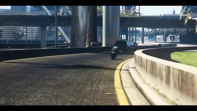Stunt Jump Failed : GrandTheftAutoV