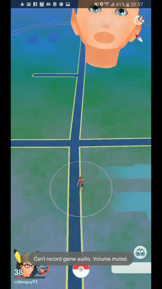 Watch and share Frightening Pokemon GO Glitch GIFs by Ronson Wagner on Gfycat