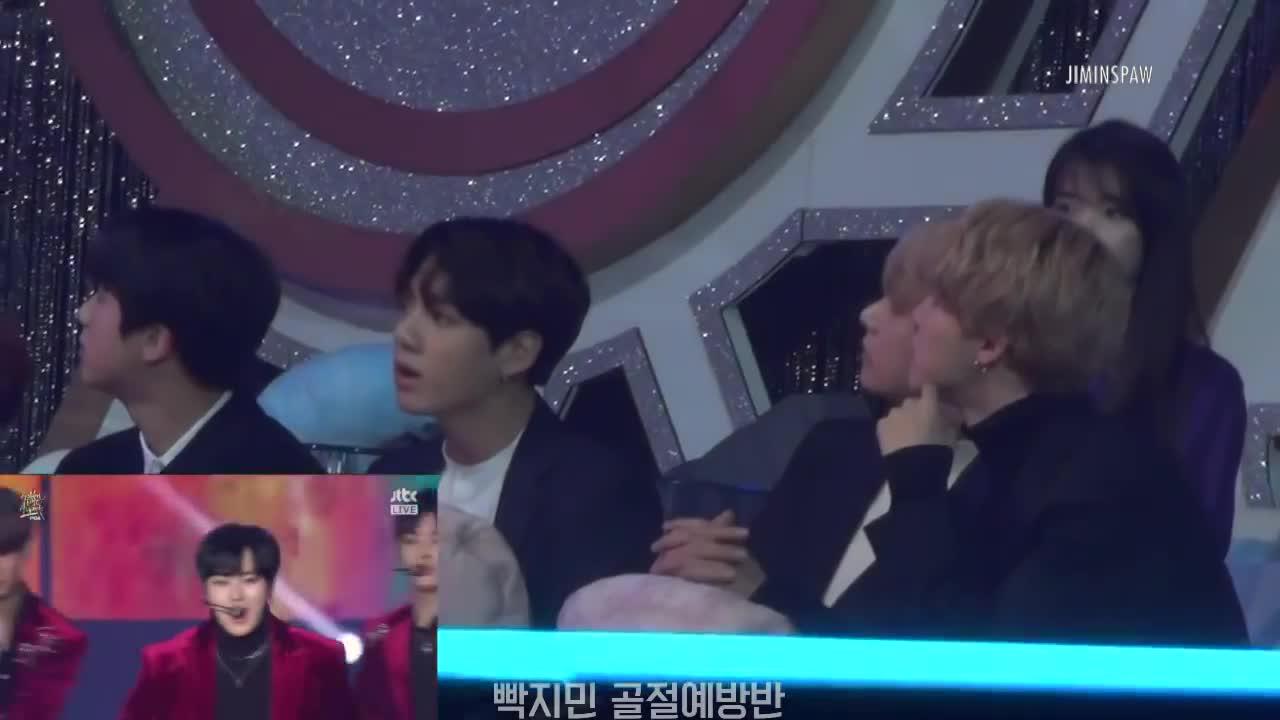 BTS  Những 'ông bố tự hào' đích thực của Wanna One tại GDA