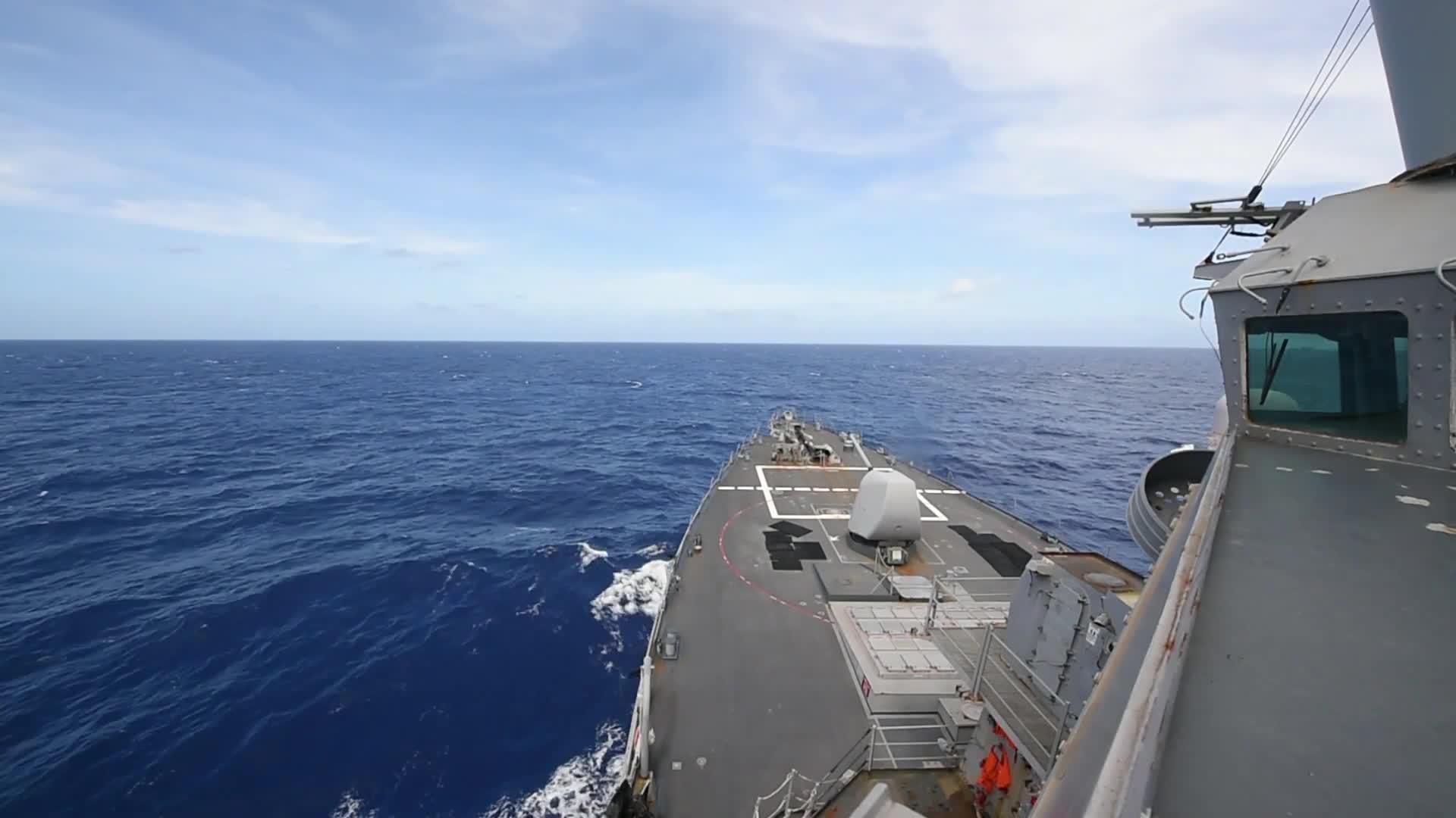 U.S. Navy, ddg, ddg 69, destroyer, exercise, missile, philippine sea, usnavy, uss milius, weapons, USS Millius (DDG 69) Weapons Exercise in the Philippine Sea GIFs
