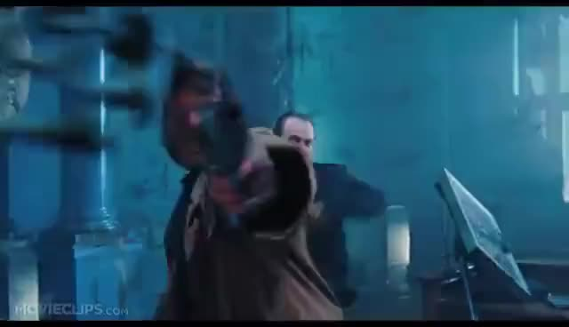 Watch and share Hellboy GIFs and Shoots GIFs on Gfycat