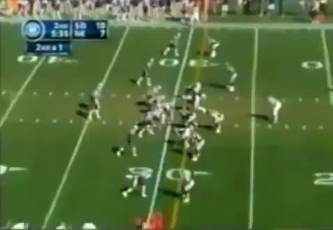 Watch and share TB 30yd TD To Dwight (SD) GIFs by patsnation11 on Gfycat
