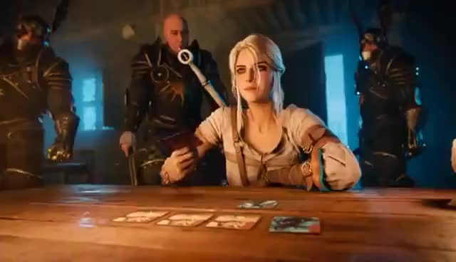 Watch and share Ciri Disappears GIFs on Gfycat