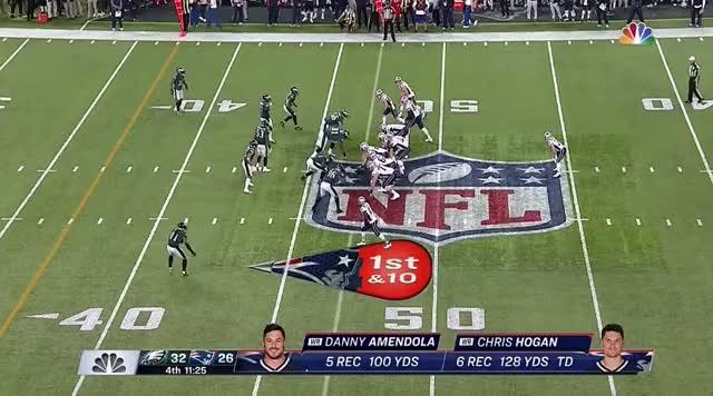 Watch and share 23 Brady To Amendola 30yd GIFs on Gfycat