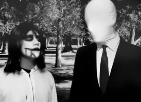 Watch and share Black And White GIFs and Jeff The Killer GIFs on Gfycat