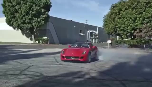 Watch Ferrari 599 GTB doing donuts GIF on Gfycat. Discover more related GIFs on Gfycat