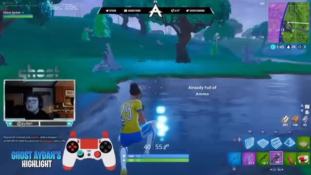 Ghost Aydan Best #Fortnite Highlights #64 After #Fallskirmish