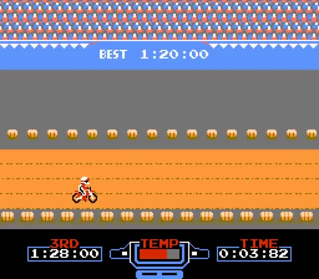 Watch ExciteBike (1984) GIF by Fedor Sivov (@fedorsivov) on Gfycat. Discover more excitebike (video game), nintendo entertainment system (video game platform), sports GIFs on Gfycat