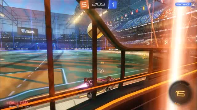 Watch Improvising when the air dribble messes up GIF by @spectral_ on Gfycat. Discover more Rocket League, rocketleague GIFs on Gfycat