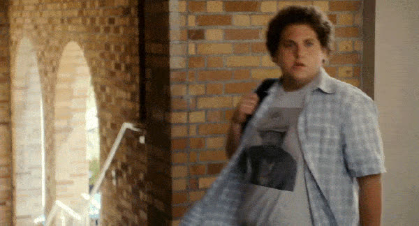 jonah hill, superbad, jonah hill am here animated GIFs