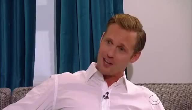 """Watch The Correct Way To Pronounce """"Alexander Skarsgård"""" GIF on Gfycat. Discover more related GIFs on Gfycat"""
