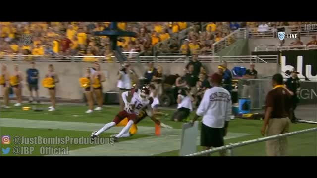 Watch Best One Handed Catches of the 2017-2018 College Football Season ᴴᴰ GIF on Gfycat. Discover more jbp, justbombsproductions GIFs on Gfycat