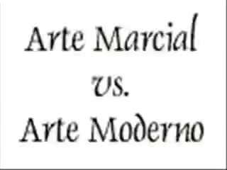 Watch ARTE MARCIAL VS ARTE MODERNO GIF on Gfycat. Discover more related GIFs on Gfycat