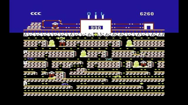 Watch C64-Longplay - Oils Well (720p) GIF on Gfycat. Discover more Commodore 64 (Video Game Platform), Longplay, Oil's Well (Video Game), c64 GIFs on Gfycat