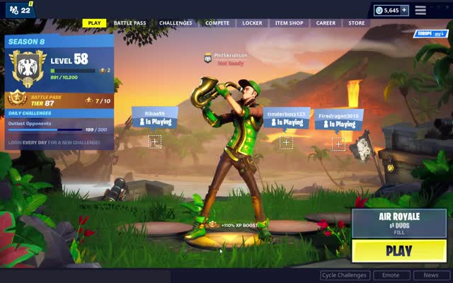 Watch and share Fortnite 2019-04-18 16 08 57 GIFs by philskrullson on Gfycat