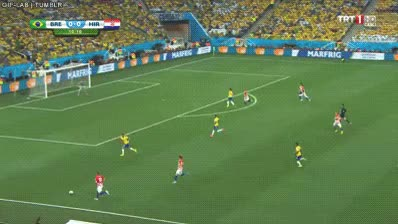 Watch and share The First Goal Of The 2014 World Cup GIFs on Gfycat