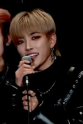 Watch and share ATEEZ Hongjoong © Unknown GIFs on Gfycat