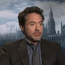 Watch and share Robert Downey Jr GIFs and Wondering GIFs by Reactions on Gfycat