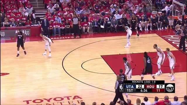 Watch and share Dante Exum Defense GIFs and Houston Rockets GIFs on Gfycat