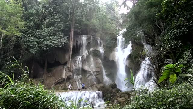 Watch and share Laos Kuang Si Waterfall GIFs on Gfycat