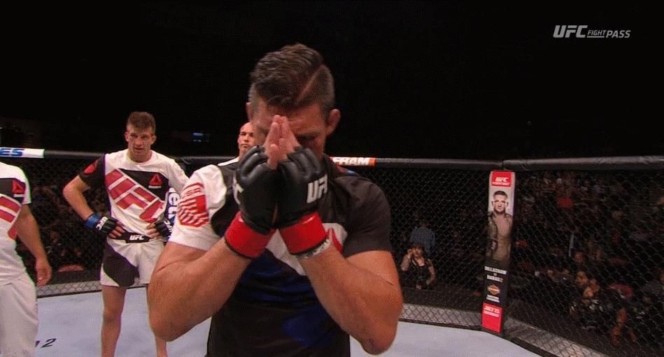 mma, muaythai, MMA fighter uses Saenchai's Cartwheel Kick to Success (reddit) GIFs