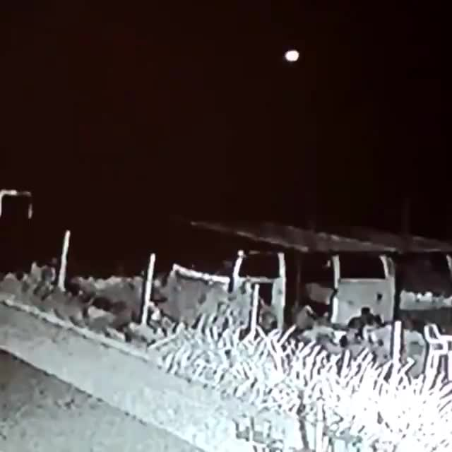 Watch and share An Asteroid Hit Earth's Atmosphere Last June, Sparkling A Fireball Over South Africa 🇿🇦 ☄️ GIFs on Gfycat