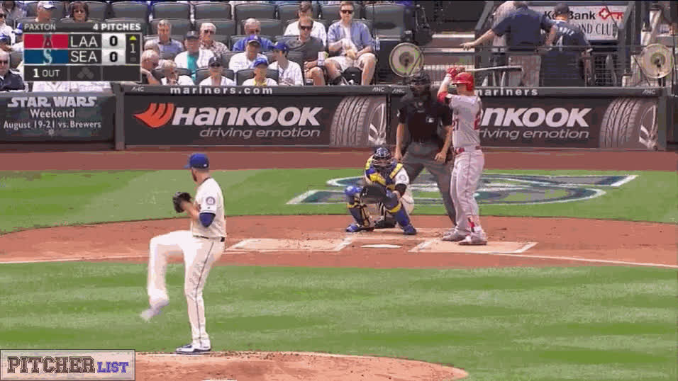 Mariners, GB-Paxton-sequence-5ptchTrout GIFs