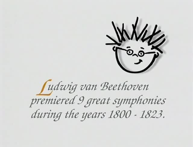 Ludwig Van Beethoven Premiered 9 Great Symphonies During The Years 1800  -  1823