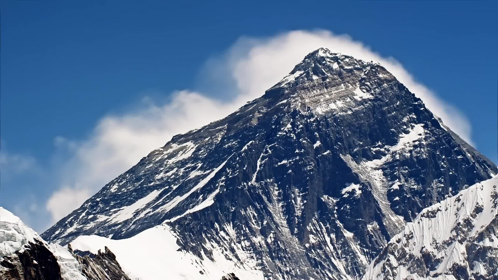 mount everest, mountain, mountains, nature, Mount Everest Cinemagraph GIFs