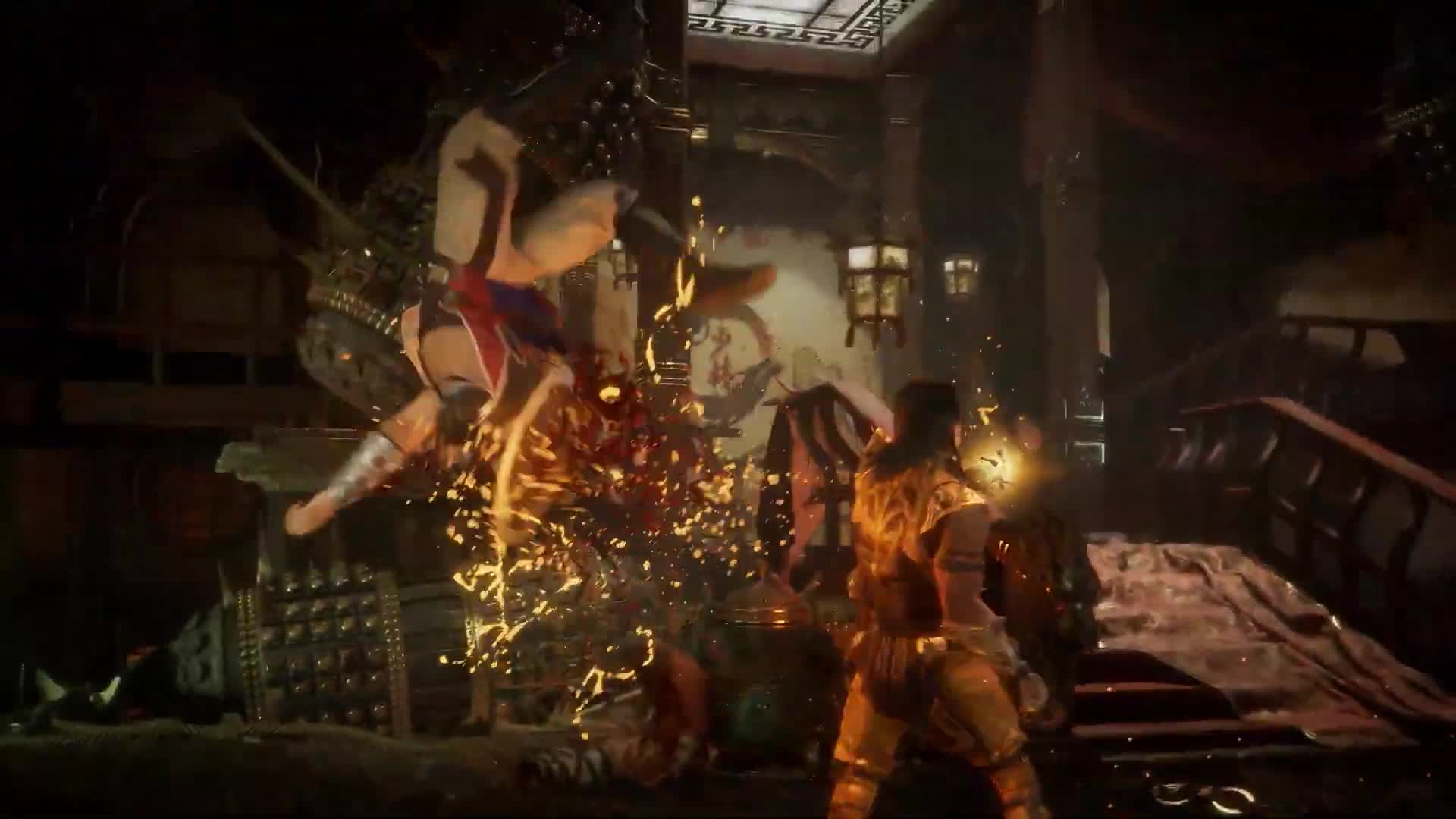 Mortal Kombat 11 Trailer Gifs Search | Search & Share on Homdor
