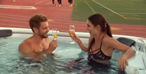 Watch and share Champagne GIFs and Hot Tub GIFs on Gfycat