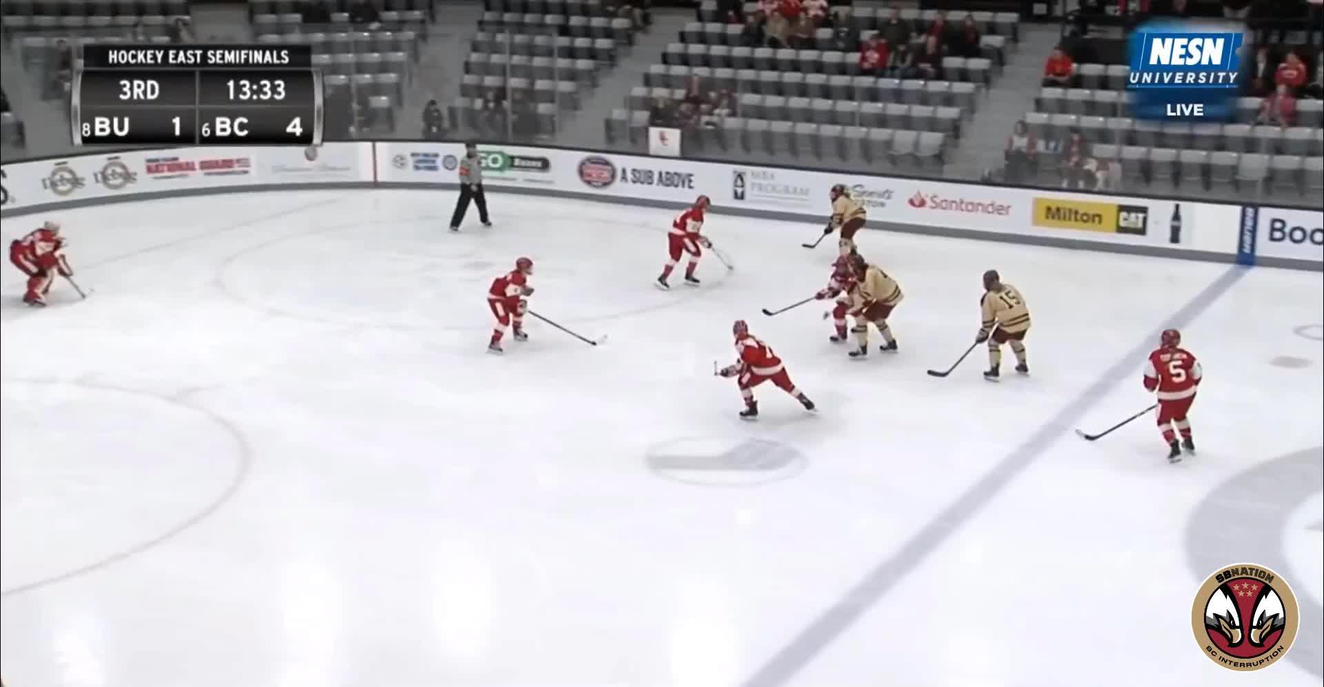 hockey, 6 Connolly (W) BU 3/9/19 GIFs
