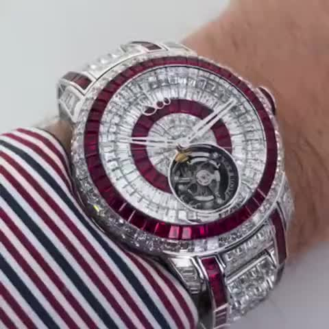 Watch and share Expensive Watches GIFs and Caviar Tourbillon GIFs on Gfycat