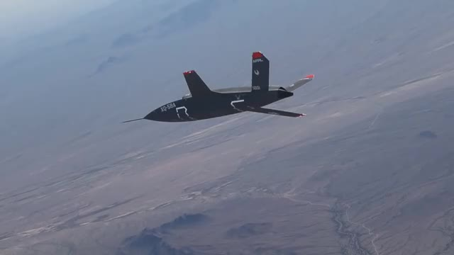 Watch and share XQ-58A Valkyrie Demonstrator Inaugural Flight GIFs by @VICTOR196331 on Gfycat
