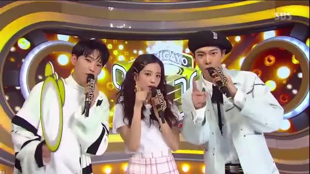 Inkigayo MC cut 2] - Hoshi (Seventeen) x Jisoo (BlackPink) x DoYoung