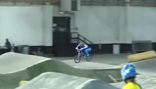 Watch and share BMX RACE GAME OF BIKE: Connor Fields Vs. Trent Jones GIFs on Gfycat